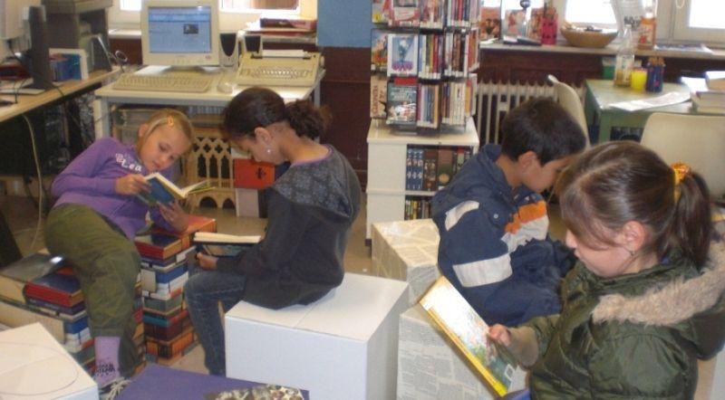 Bücherei kennenlernen